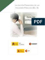 Guia Participante Descentralizacion Financier A AAPP