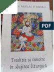 Traditie si innoire in slujirea liturgica - Pr. Prof. Dr. Nicolae (fragment)
