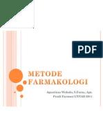METODE FARMAKOLOGI_1