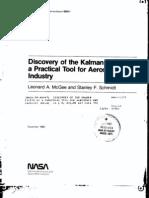 Schmidt - History of Kalman Filter - Nasa Report