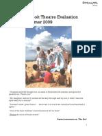 Gobbledegook Evaluation for 'The Hut' 2009
