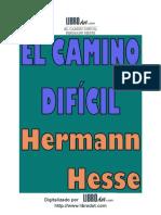 HESSE, Hermann_El Camino Difícil