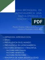Asma Bronquial en La Ti No America Epidemia o Nuevo Fenotipo