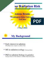 Low Dose Radiation Risk