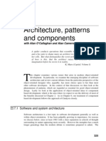 Arquitecture Patterns and Component