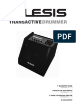 Trans Active Drummer - Quick Start Guide - RevD