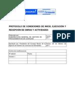 Protocolo Condiciones Inicio Ejecucion Recepcion ObrasYActividades