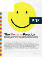 The Pleasure Paradox 2005 Psychology Today
