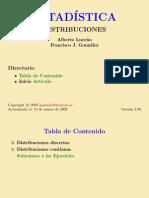 Ejemplos Resueltos de Distribuciones