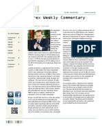 FX Weekly Commentary - Oct 30 - Nov 05 2011