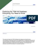 Matt Anglin TSM Symposium 2011 Exploring the TSM V6 Database Everything You Need to Know