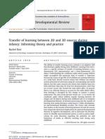 Developmental Review Barr 2010