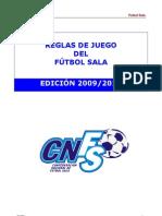 Reglamento Futbol 5a