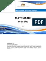 01 - DSK Matematik Tahun 1 - BM