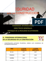 Seguridad en La Construccion Oct11ppt