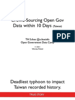 Crowdsourcing Gov Data