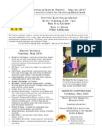 May 29 2007 Byrd House Market Weekly Newsletter