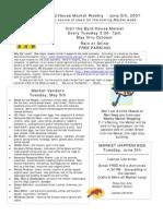 June 5th Newsletter