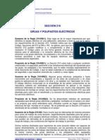 21.- Sección 210-Grúas y Polipastos Eléctricos