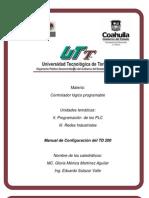 Manual configuración TD200