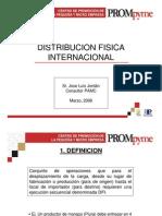 9 DISTRIBUCION FISICA INTERNACIONAL