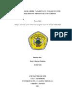 Tugas Akhir Teknik Sipil FT UNTIRTA by BENZ NAINGGOLAN