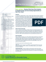 Chemical Plant Uses Pinch Analysis to Quantify Energy and Cost Savings Opportunities