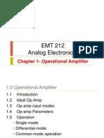 CH 1 - Op-amp