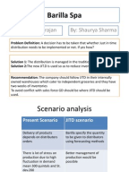 barilla spa case supply chain strategic management documentos similares a barilla spa case