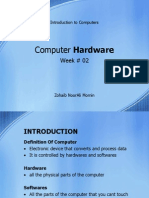 (IT-WK02) Computer Hardwares