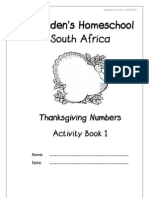 Thanksgiving Numbers & Counting Packet