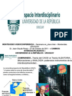 presentacion completaMonteVIDEOvideoCONFERENCIAjcperezOctubre2011