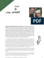 Ngahau and Debbie Davis — Making the What