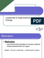Leadership Motivation