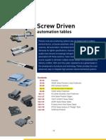 Screw Driven