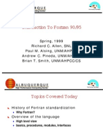Intro Fortran 1 Ppt