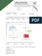 Ficha de Trabalho 10º ano Matemática A