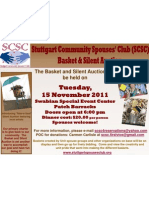 Stuttgart Community Spouses' Club ~ Basket & Silent Auction