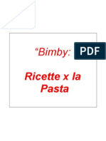 Bimby Pasta ( Ricettario )