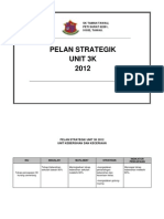 Pelan Strategik Unit 3k 2012
