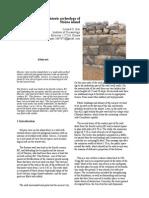 Nisyros Island Prehistoric Archeology