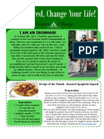 Inspire Change Foundation Newsletter October 2011