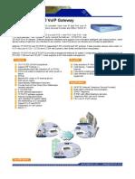 Datasheet VoIP Gateway FXS-FXO