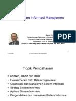 Sessi 7 - Sistem Informasi Manajemen