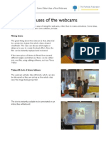 10 Other Uses of the Webcams