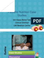 Pediatric Nutrition Case Studies