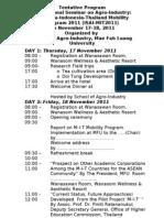 MIT Seminar Tentative Program Nov 2011 Revised October 25 2011