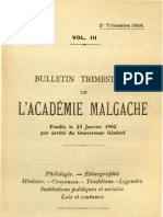 Bulletin de l'Académie Malgache III, 2 - 1904