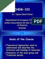 CH101 Lecture 1