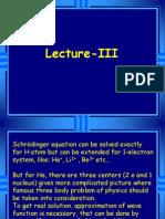 CH101 Lecture 3